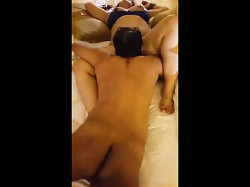 Indian Men Filming Exotic GF Pussy Licked