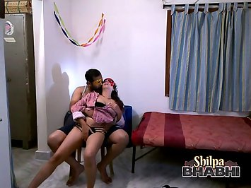 Shilpa Bhabhi Teasing Her Husband For Sex