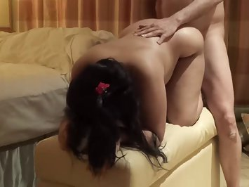 Indian Wife Fucked Hard Doggy Style Sex