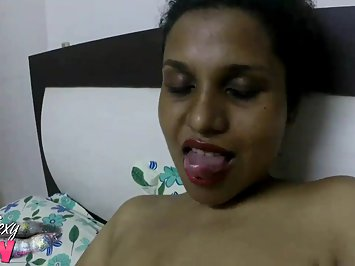 Sexy Lily Big Tits Indian Babe