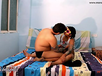 Horny Indian Couple Fuck Feast
